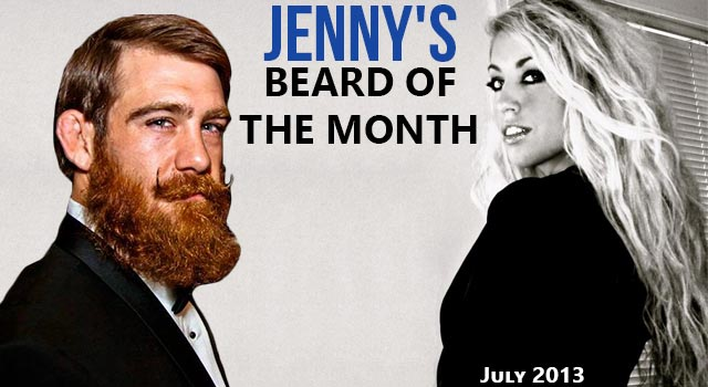 Jenny's Beard Of The Month - MMA Fighter Josh Tyler