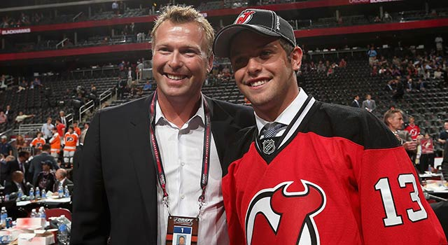 Martin Brodeur Announced His Son Anthony's Pick In NHL Draft