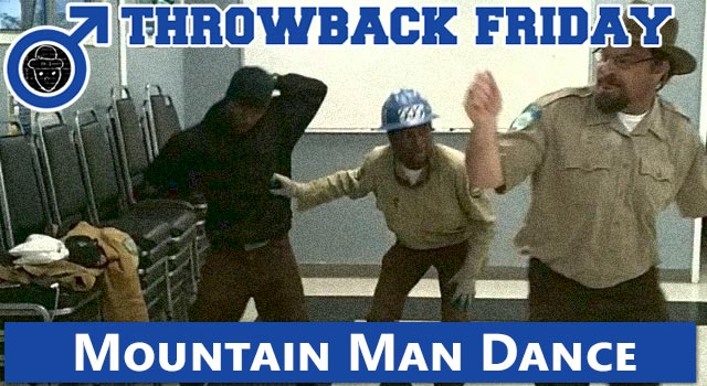 Throwback Friday: Mountain Man Kills It Dancing