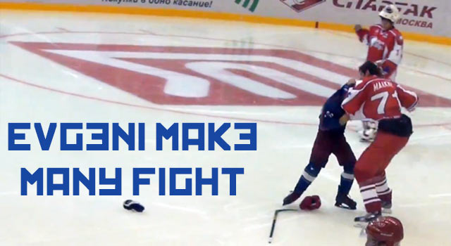 Evgeni Malkin Fights A 7 Year Old In Russia