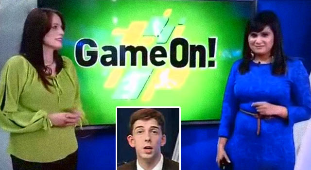 Two Newscasters Fail Hard In South African Sports Report