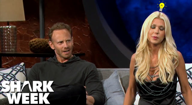 Sharknado's Tara Reid Thinks Whale Sharks are Sharks Mating With Whales