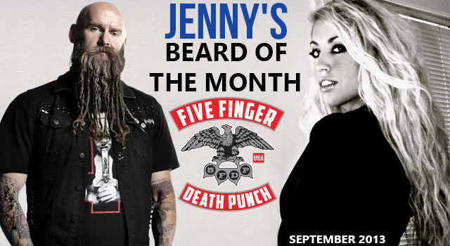Jenny's Beard Of The Month - Chris Kael From Five Finger Death Punch