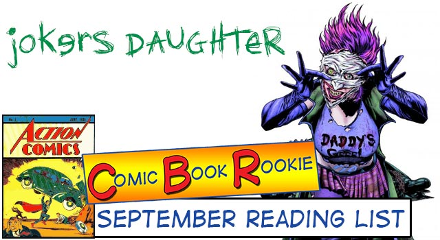 Comic Book Rookie: September 2013 Review (Villains Month)