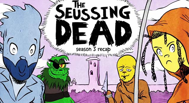 The Seussing Dead: Walking Dead Meets Dr. Seuss