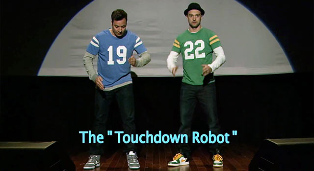 End Zone Dancing With Jimmy Fallon And Justin Timberlake