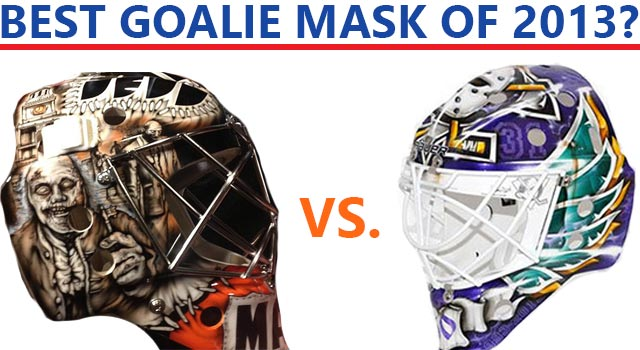 Goalie Mask Fight: Zombie Ben Franklin Vs. The Mighty Ducks