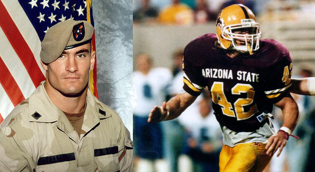 Portrait Of Pat Tillman Will Lead ASU Football To The Field