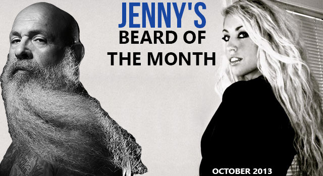 Jenny's Beard Of The Month - John Carrasco - October 2013