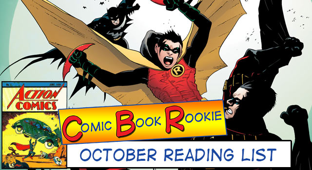 Comic Book Rookie: October 2013 Review (Son of Batman)