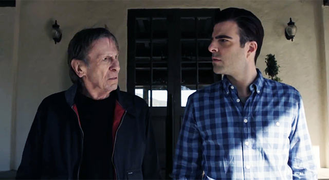 Old Spock Vs. New Spock In The Best Car Commercial Ever