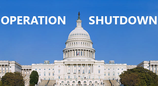 The Government Shut Down? We're Shutting Down Too
