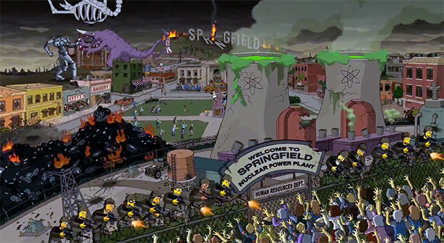 Guillermo del Toro's Amazing Halloween Opening Couch Gag For The Simpsons