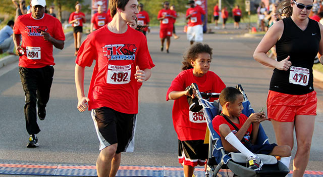 Boy Asks TV Station For Help So His Disabled Brother Can Run A 5K