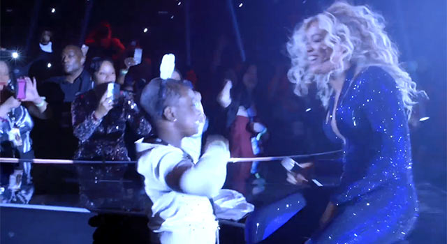 Beyonce Sings 'Survivor' Duet With Make-A-Wish Teen