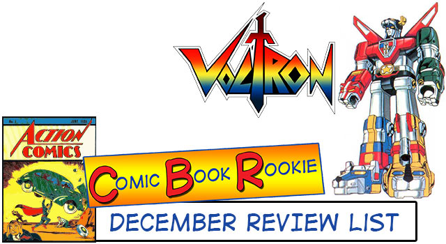 Comic Book Rookie: December 2013 Review
