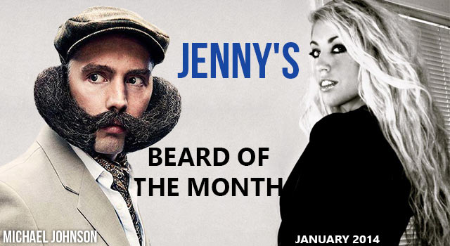 Jenny's Beard Of The Month - Michael Johnson - January 2014