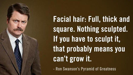 Ron Swanson's Beard Greatness