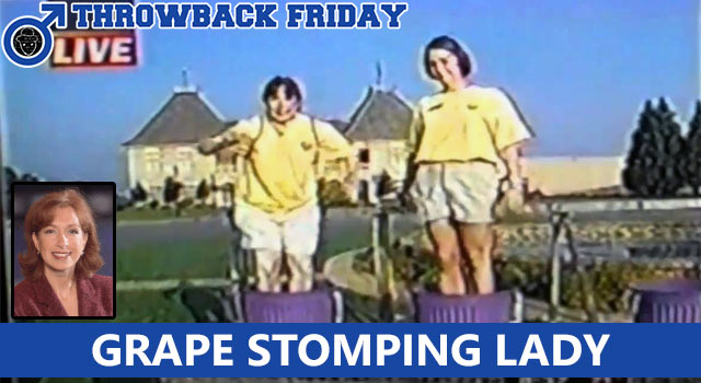 Throwback Friday: What Happened To The Falling Grape Stomper