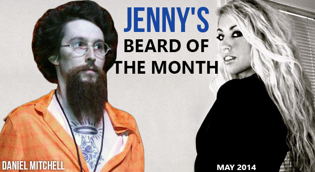 Daniel Mitchell - Jenny's Beard Of The Month