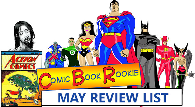 Justice League and Walking Dead - May 2014 Comic Book Review