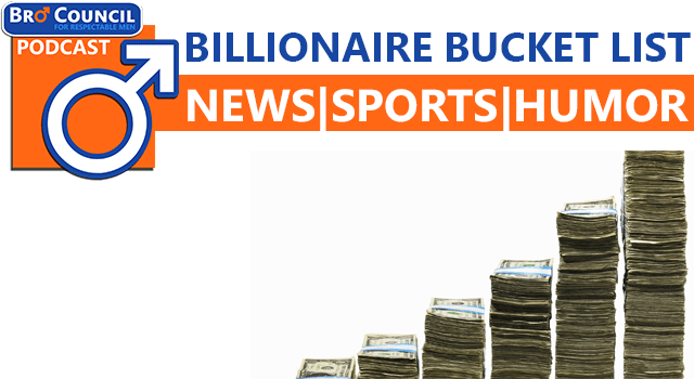Podcast: Billionaire Bucket List Fantasy Draft