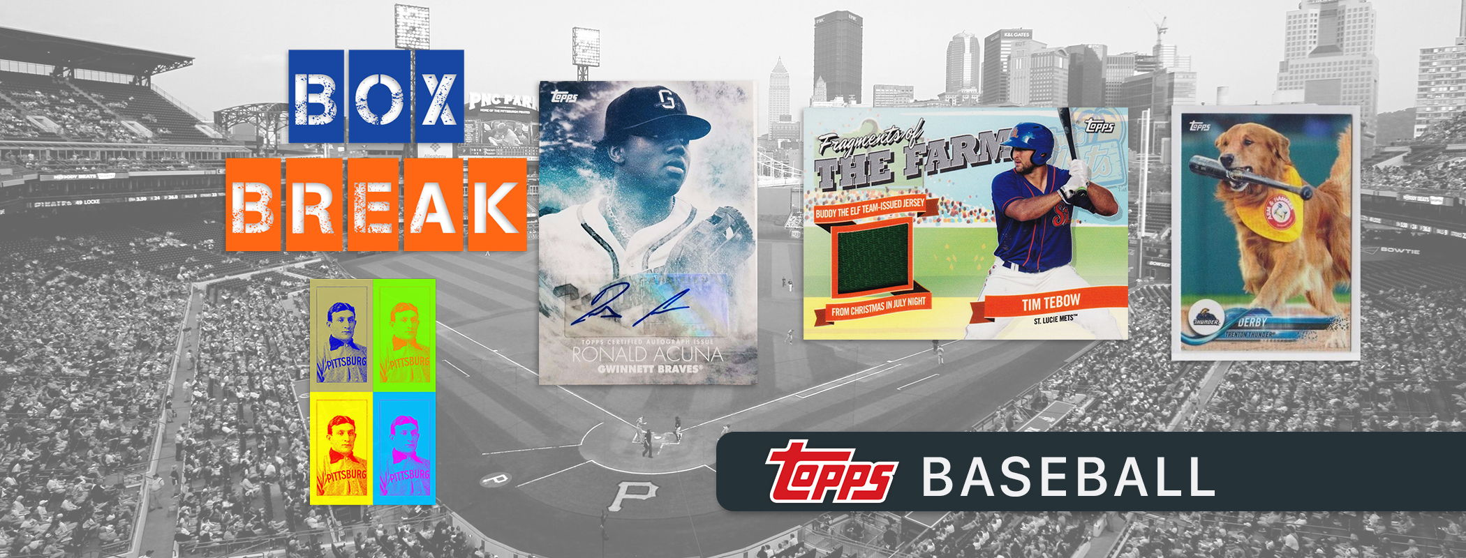 Topps 2018 Baseball Card Box Break
