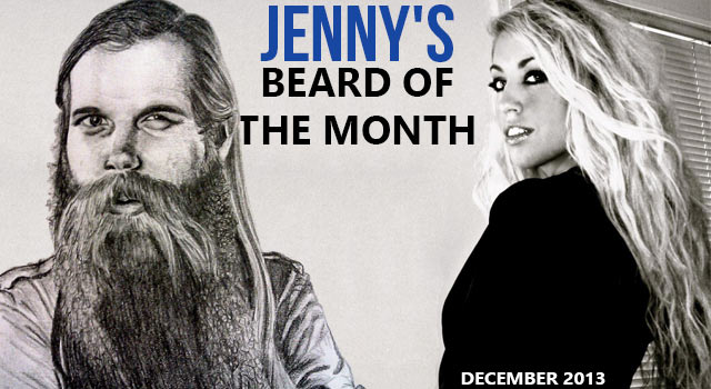 Jenny's Beard Of The Month - Myk O'Connor - December 2013
