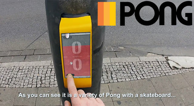 German Traffic Light Lets You Play Pong While You Wait