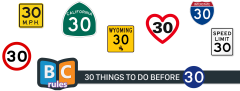 30 Things To Do Before 30