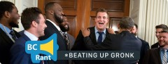 The Time I Almost Had To Beat Up Rob Gronkowski