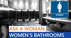 Ask A Woman - Why Are Female Restrooms So Much Better?