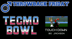 Throwback Friday: Bo Knows Tecmo Super Bowl