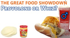 Food Showdown: Cheesesteaks - Provolone Or Whiz?
