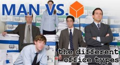 Man Vs. Cube: The Different Office Types