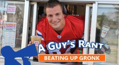 I Almost Had To Beat Up Rob Gronkowski