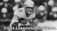 US Rep. Steve Largent Destroys A DB