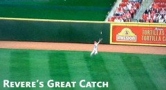 Ben Revere Makes An Amazing Catch