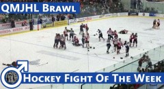 Hockey Fight Of The Week: Full-Team QMJHL Brawl