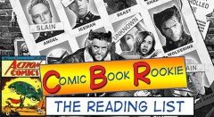 Comic Book Rookie: Recommended Reading List