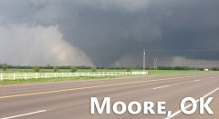 A Timelapse Video Of The Moore, Oklahoma Tornado