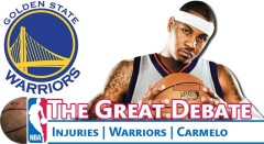 Great NBA Debate: Injuries, Rise of the Warriors, & Carmelo