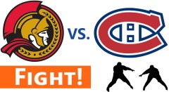 Senators vs. Canadiens: A Full Line Donnybrook