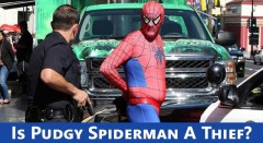 When Good Superheroes Go Bad: Spiderman Thief