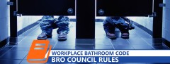 6 Rules For The Workplace Bathroom - Code Of Ethics-