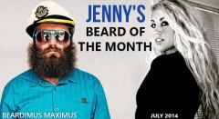 Beardimus Maximus - Jenny's Beard Of The Month - July 2014